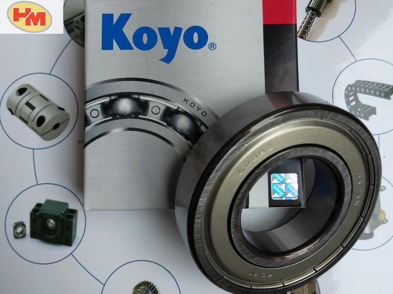 Cấu tạo của vòng bi bạc đạn KOYO